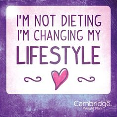 Love Cambridge Weight Plan xx