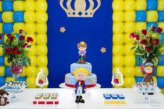Birthday Party Theme The little prince, Pequeno Príncipe, Festa de Aniversário…