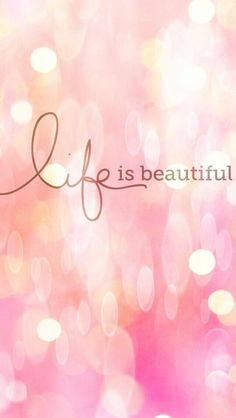 Life is beautiful. appreciate the things around you! life is beautiful quotes, awesome Life Is Beautiful Quotes, Beautiful Words, Beautiful Pictures, Phone Backgrounds, Wallpaper Backgrounds, Trendy Wallpaper, Wallpaper Quotes, Cute Wallpapers, Iphone Wallpapers