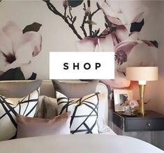 WALLPAPER : MAGNOLIA©️️ MURAL - drop it MODERN - Modern and contemporary interior designed wallpaper for the studio and home.   #wallpaper #InteriorDesign #HomeDecor #bedroom #bathroom #kitchen #LivingRoom #designer #luxury #traditional #FarmHouse #MidCenturyModern