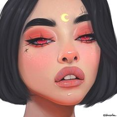 New digital art realistic illustrations ideas Art Et Design, Digital Art Girl, Digital Art Anime, Anime Kunst, Aesthetic Art, Aesthetic Drawing, Aesthetic Japan, Anime Art Girl, Portrait Art