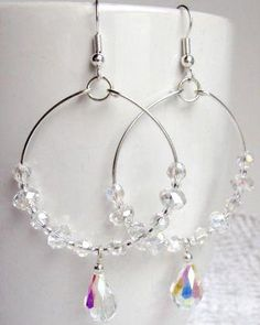 Handmade Hoop Earrings from LC.Pandahall.com.