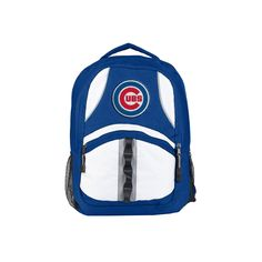 Chicago Cubs Backpack Captain Style Royal and Black