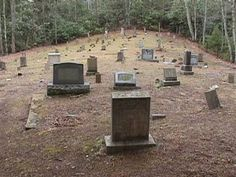 Elkmont Cemetery at the old Eklmont Campgrounds in the Smoky Mountain National Park. Pet Cemetery, Cemetery Headstones, Old Cemeteries, Graveyards, Spooky Places, Haunted Places, Real Ghosts, Catacombs, Ghost Hunting