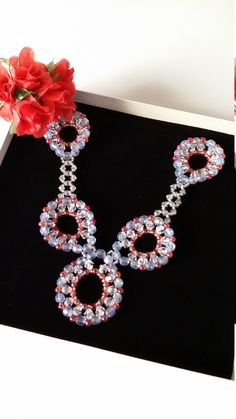 Schmuckset: Collier, Armband und Ohrringe von PerlenweltDesign auf Etsy