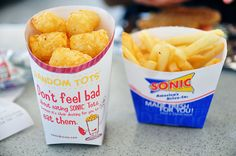 tots and fries