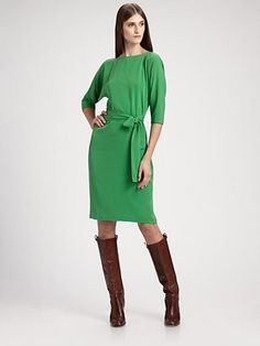 Green is my current favorite color.  I pre-ordered this dress which Kate Middleton recently wore (I'm kind of obsessed with her clothes)