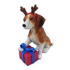 St. Nicholas Square Beagle Christmas Ornament