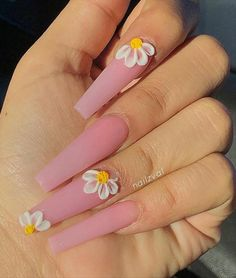 Manicure At Home- 50 Matte Coffin Nails Style Coffin Nails Matte, Acrylic Nails Coffin Short, Simple Acrylic Nails, Summer Acrylic Nails, Best Acrylic Nails, Gel Nails, Coffin Nails Designs Summer, Acrylic Nail Designs For Summer, Colored Acrylic Nails