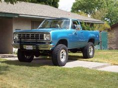 Here is a true RAM classic...a 1975 Dodge Ramcharger! www.zimmermotors.com