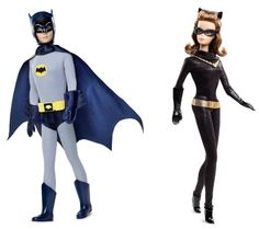 Barbie Collector Doll: Barbie Collector Pink Label Ken  Barbie Batman  Catwoman Set Of 2 -- Details can be found by clicking on the image.