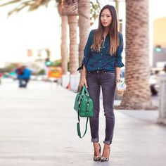 New Outfit Post! Http://www.songofstyle.com - @songofstyle- #webstagram