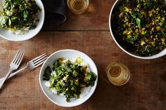 Sri Lankan Kale Mallung recipe on Food52
