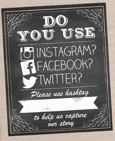 Great idea to use at a craft fair or market to get people to share your work and items they bought. Add a contest or prize for using the hashtag for added incentive.
