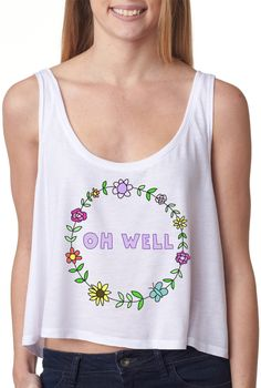 Oh Well Crop Top Hipster Crop Tops, Cute Crop Tops, Outfits For Teens, Summer Outfits, Cute Outfits, Hi Fashion, Cute Fashion, Fresh Tops, Warm Weather Outfits