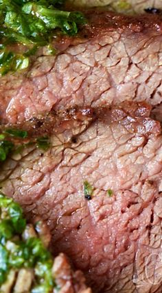 Grilled Tri-Tip with Chimichurri Sauce - tri-tip is a tender, delicious cut of beef that's perfect for grilling. Best Beef Recipes, Grilled Recipes, Rib Recipes, Steak Recipes, Cooking Recipes, Healthy Grilling, Healthy Food, Kinds Of Steak, Beef Ribs Recipe