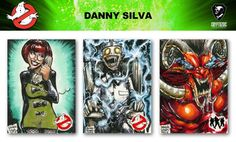 Ghostbusters Trading Cards sketch previews part 11 | Cryptozoic Entertainment