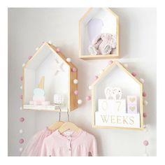 2 Pçs/set das Crianças quarto decorado bonito personalizado casa partição Moda casas De Boneca De Madeira de madeira Do Bebê Dos Miúdos Meninas Quarto