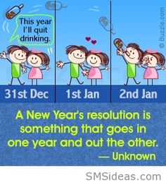 A new year resolution quote