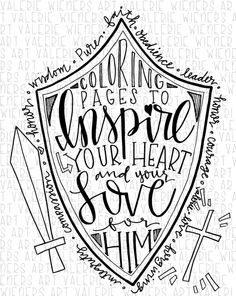 Bible Verse Coloring Pages  Flame Creative Childrens Ministry