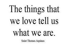 The things we love...