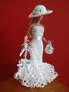 Barbie Crocheted dress