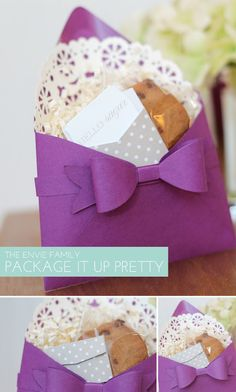 Simply Crafty: The Envelope Collection | Damask Love Blog; forego the gift bag and transform your A2 envie