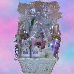 Going to a Bridal Shower? This basket is the perfect accessory for a honeymoon!  It contains to wine glasses, gourmet chocolates, scented candles, relaxing massage oil, a lovely wedding picture frame,  and a gift card for FREE housewares for the return home!$65 http://www.premiergiftsolutions.biz/deal-of-the-week/