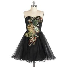 Perfect Poise Peacock Dress