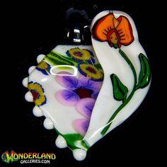 @gtimmglass pendant available online. #glassofig #pendantsofig #millie #aliceinwonderland #wonderland #glassart #glassfam #jewerly #grimm #grimmglass #love