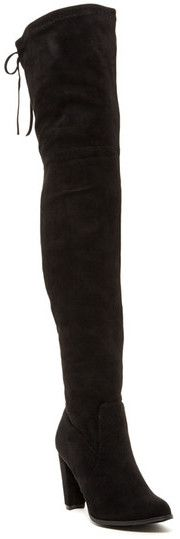 Catherine Catherine Malandrino Sorcha Faux Fur Lined Over-the-Knee Boot