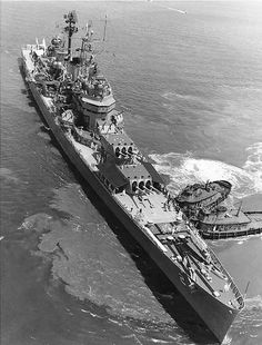 Canberra moving into position for the International Naval Review in Hampton Roads Virginia the United States 12 June 1957