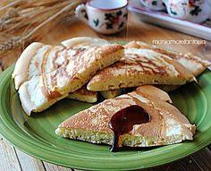 Pancake gigante per chi va di fretta | ricetta pancake