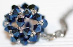 Schlüsselanhänger aus Swarovski-Perlen basteln