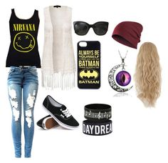 Back to School by pheobe-poindexter on Polyvore featuring New Look, Vans, Chanel and back2school