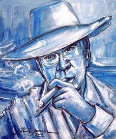 Retrato de Tom Jobim - 2006 AST - 60x50