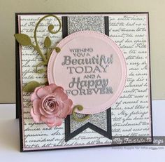 Beautiful Today by mrupple - Cards and Paper Crafts at Splitcoaststampers