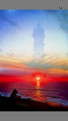 The Dark Tower (Stephen King)- artwork by Michael Whelan