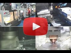This video shows some general CNC machining processes to you.