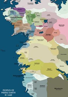 Peoples of Middle-earth   http://lindefirion.net/maps/PeoplesOfMiddleEarth.jpg