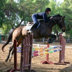 Rob suggests an exercise to help this rider's leg stay in place.