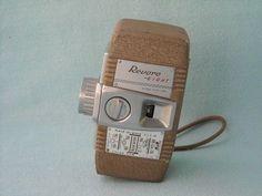Revere 8mm Film Movie Camera Model Fifty Five Vintage #Revere $24.44
