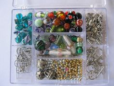Jewelry Making Kit Findings and Beads by GotMilkGlassAndMore, $8.75