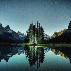 Spirit Island, Alberta, Canada — Photography by Chris Burkard