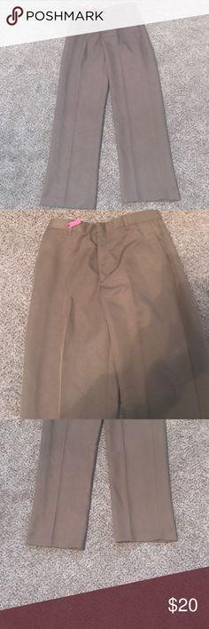Boy's Izod Dress Pants Boy's Izod Tan Dress Pants.  2 Back Button Pockets and 2 Front Pockets.  Perfect for Church!!! Izod Bottoms Formal