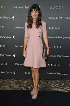 Best dressed 10.09.14 gallery - Vogue Australia Alessandra Mastronardi in Gucci at the premiere of 'The Director' in Rome