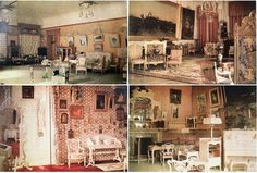 Rooms at Alexander Palace, 1917. These photos are real color pictures. These photos was taken after the imperial family's departure to Tobolsk, Siberia.