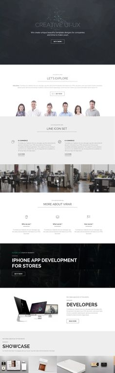 Parallax multipurpose HTML template with one page layout with an unique header what fit to many business profiles or portfolios, based on Bootstrap 3.x