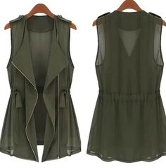 Army Vest Green or Black