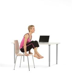 Yoga at Your Desk by Kristin Mcgee, bliss.com: These postures will not only alleviate tension and stress in the body; but also help refocus the mind and help you stay present throughout the day.